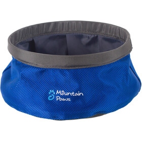 Mountain Paws Water bowl Animal Crate S foldable grey/blue